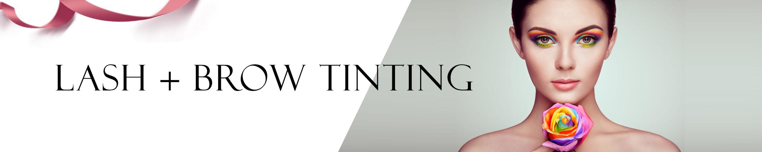 Lash + Brow Tinting