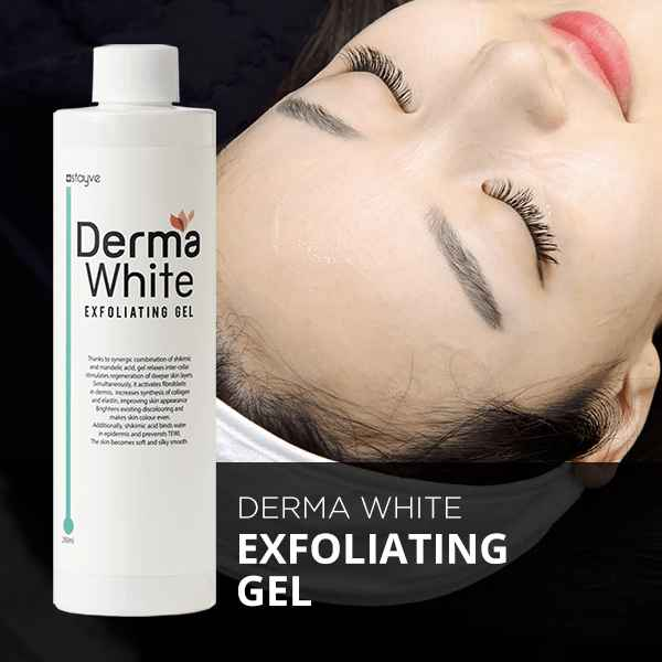 derma white exfoliation gel