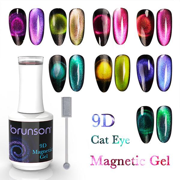 9D Cat eye nail polish